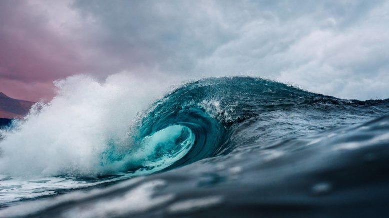 ocean water wave photo